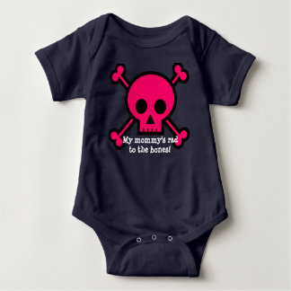 Body Para Bebê O rad da minha mamã aos ossos!
