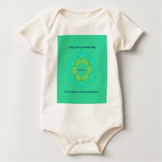 Body Para Bebê O #Resist protege a mandala do Anti-Trunfo do