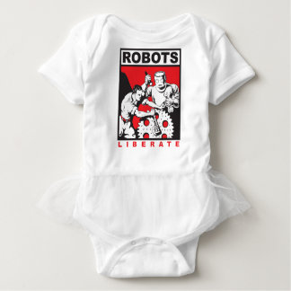 Body Para Bebê O robô ajusta-o livre