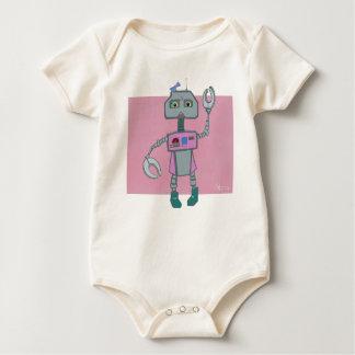 Body Para Bebê O robô de Roberta dons arcos