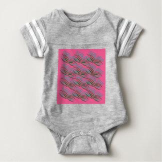 Body Para Bebê O rosa dos elementos do design sae exótico