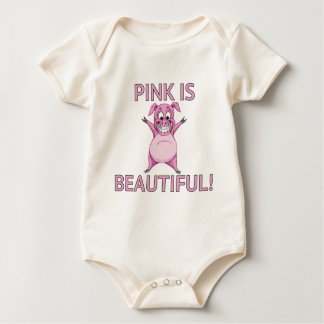 Body Para Bebê O rosa é bonito!