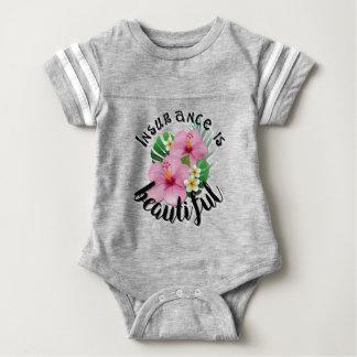 Body Para Bebê O seguro é bonito