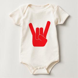 Body Para Bebê O sinal da rocha