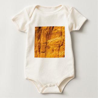 Body Para Bebê o sol dourado beijou a pedra