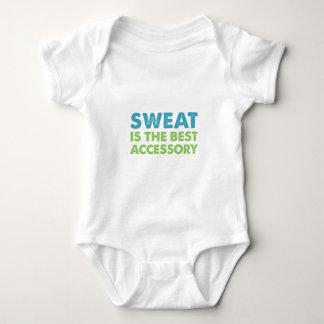 Body Para Bebê O suor é o melhor acessório