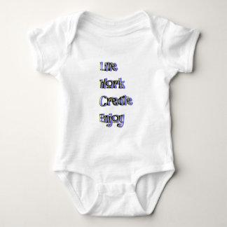 Body Para Bebê o trabalho vivo cria aprecia