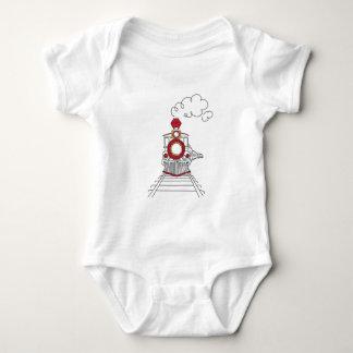 Body Para Bebê O trem de Choo-Choo do T do bebê da vida