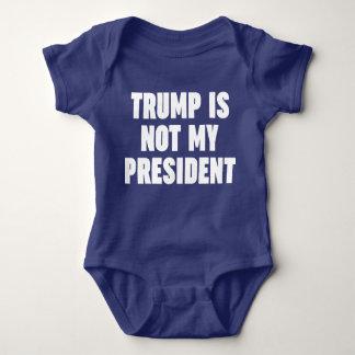 Body Para Bebê O trunfo não é meu presidente
