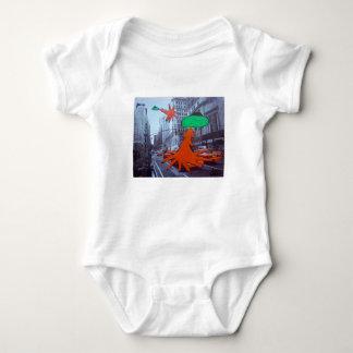 Body Para Bebê O UFO ataca a cidade grande