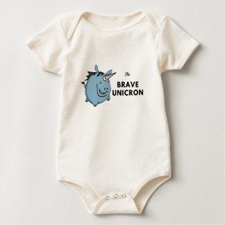 Body Para Bebê O unicórnio bravo