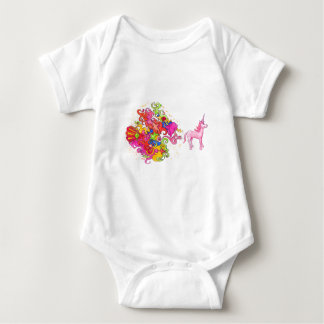 Body Para Bebê O unicórnio Fart