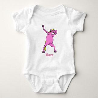 Body Para Bebê o unicórnio todo do pônei da solha compra