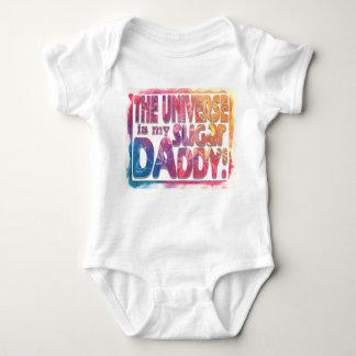 Body Para Bebê O universo é meu original da Novo-Idade do pai de