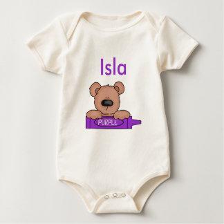 Body Para Bebê O ursinho personalizado de Isla