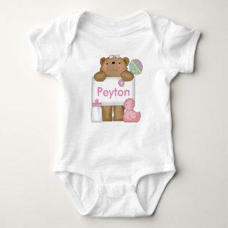 Body Para Bebê O urso doce de Peyton