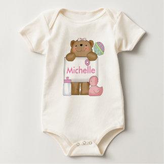 Body Para Bebê O urso personalizado de Michelle