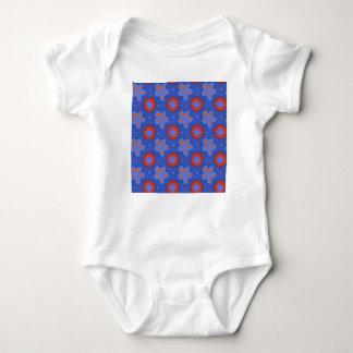 Body Para Bebê O vermelho floresce #2