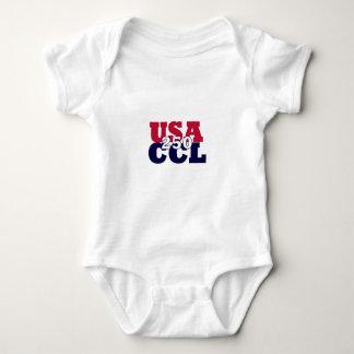 Body Para Bebê O -y dos EUA - América 250th ou aniversário de CCL
