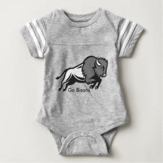 Body Para Bebê Obtenha a seu EDDIE o Romper do bebê do BISONTE de
