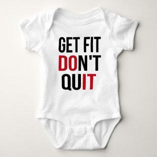 Body Para Bebê Obtenha o ajustado não param - FAÇA-O