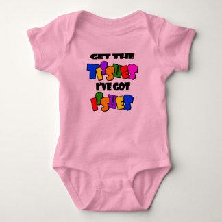Body Para Bebê Obtenha os tecidos I've obtidos bebê das edições