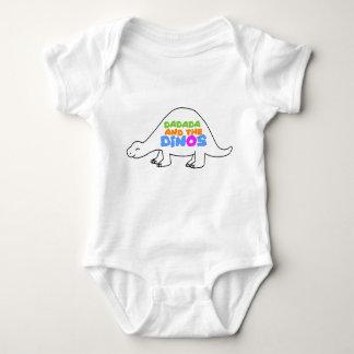 Body Para Bebê Obtenha seu Dino sobre!