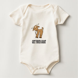 Body Para Bebê obtenha sua piada da cabra