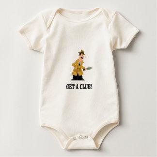 Body Para Bebê obtenha um homem do indício