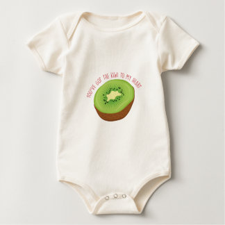 Body Para Bebê Obteve o quivi