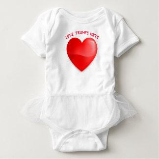 Body Para Bebê ódio dos trunfos do amor