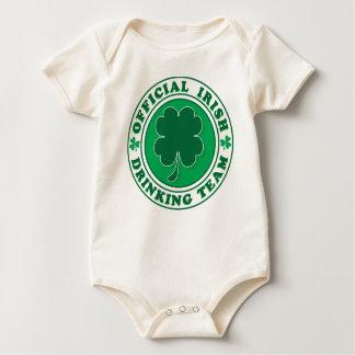 Body Para Bebê Oficial-Íris-Bebendo-Equipe