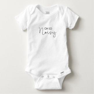 Body Para Bebê Oh Babysuite tão ruidoso