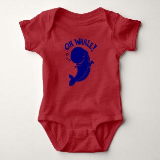 Body Para Bebê Oh baleia