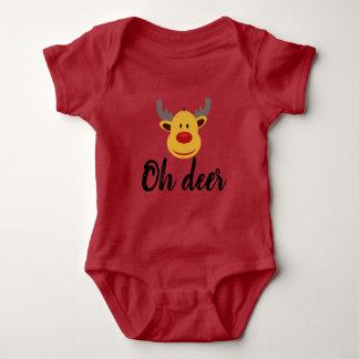 Body Para Bebê Oh cervos