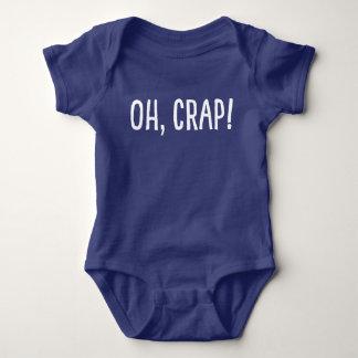 Body Para Bebê Oh, excremento! (Eu fui clonado!)