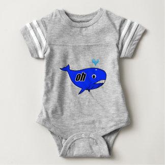 Body Para Bebê Oh Wale oh
