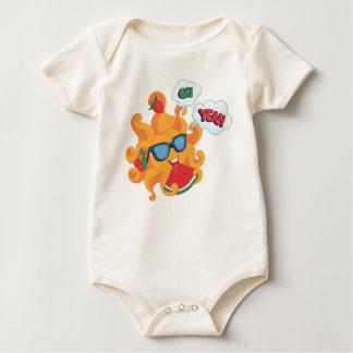 Body Para Bebê Oh! Yeah! é verão