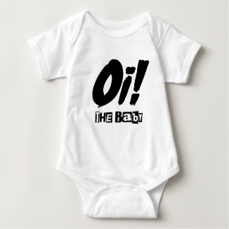 Body Para Bebê Oi! O Bodysuit do bebê