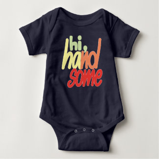 Body Para Bebê Olá! Bodysuit considerável