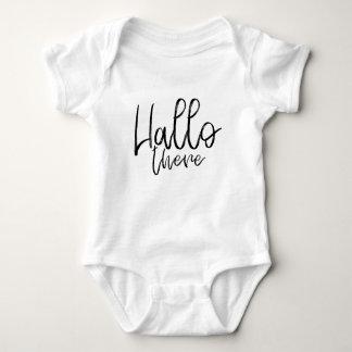 Body Para Bebê Olá! palavras lá de fala