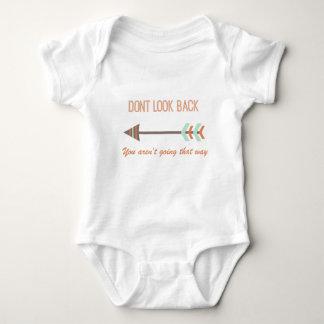 Body Para Bebê olhe para trás