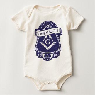 Body Para Bebê Olho devista de Illuninati do Freemason