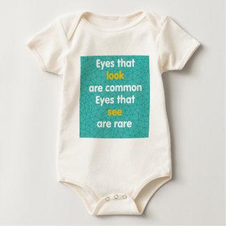 Body Para Bebê Olhos