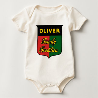 Body Para Bebê oliver_family_tradition