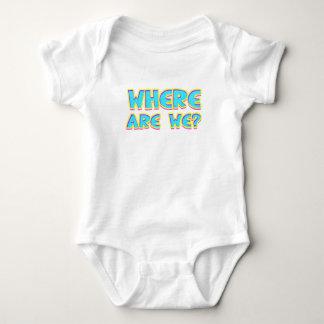 Body Para Bebê Onde estamos nós