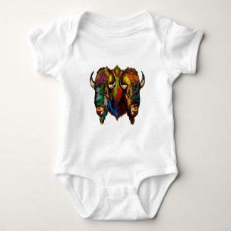 Body Para Bebê Onde o búfalo vagueia