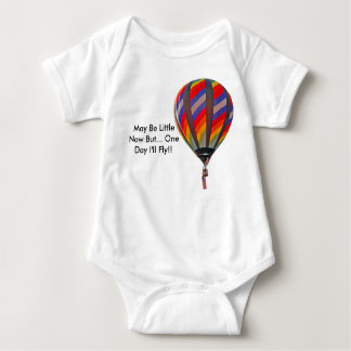 Body Para Bebê Onesy infantil com o balão de ar quente