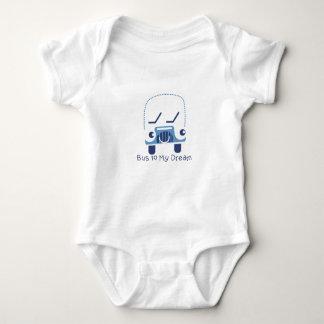 Body Para Bebê Ônibus a meu Bodysuit ideal do jérsei do bebê