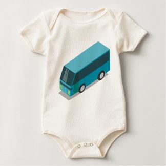 Body Para Bebê Ônibus da cerceta